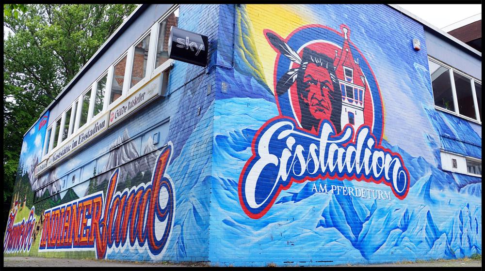 Fassadengestaltung und Graffiti aus Hannover