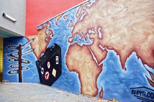 Graffiti Fassadengestaltung - Graffiti Workshop. Airbrush und Graffiti aus Hannover