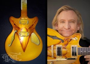 Airbrush Custom Painting - Joe Walsh Eagles Artwork