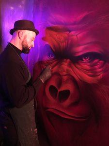Airbrush und Graffiti aus Hannover für Aufträge.