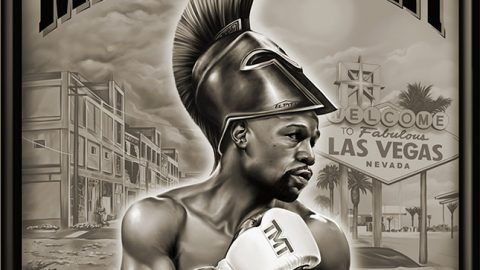 Illustration / Artwork – Floyd Mayweather