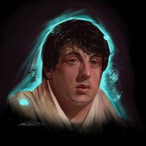 Photoshop Rocky Portrait