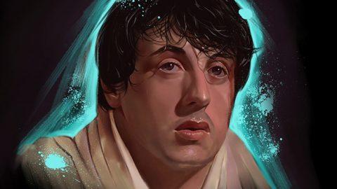 Das Rocky Portrait von El Piti